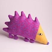 Sydney Hedgehog Plush Lambswool Toy