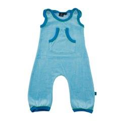 ej sikke lej Soft Blue Velour Playpants