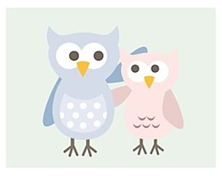 Owls (Twit and Twoo) from Milly Bee