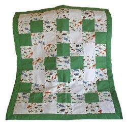Organic Cotton Patchwork Quilt - Cot Size
