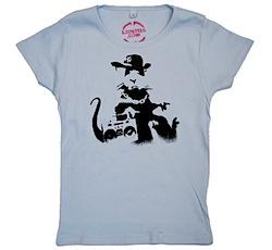 Banksy Rat Girls T‑Shirt