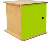miny unit in lime green from little childs