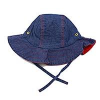 ej sikke lej Dark Denim Summer Hat Girls