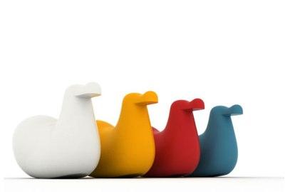 Panik-Design Magis - Oiva Toikka - Dodo Rocking Bird