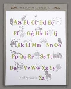 Lil' Learners Alphabet Print - Digital by pearlmarmalade