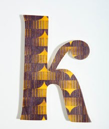 wooden letter wall from urban outfitters