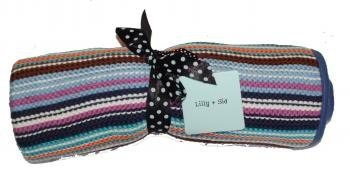 lily and sid striped blankets