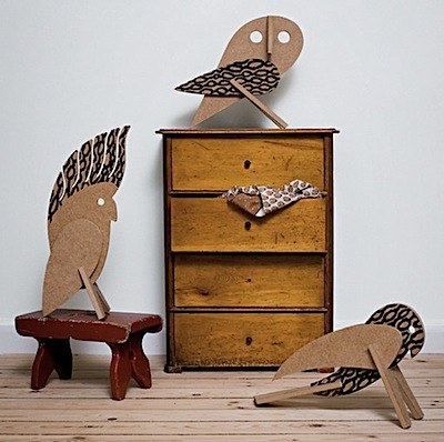 our children's gorilla MDF birds