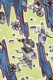 Flo, B, Tana Lawn Liberty Fabric By Grayson Perry.