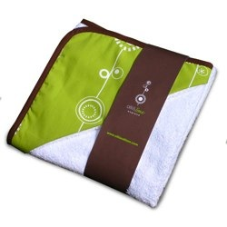 george olli and lime hooded towel