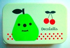 Decolello pear lunch box