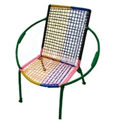 Recycled Steel & Rope Chair