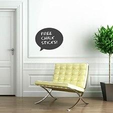 Speech Chalkboard Sticker