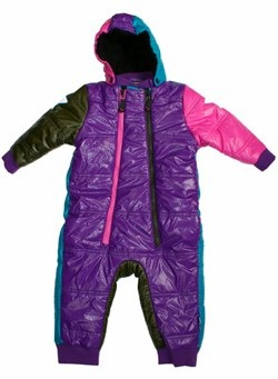 Holden Multi Colour Snow Suit by Molo