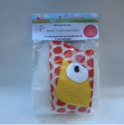 Make Your Own Owl-Sew a softie kit