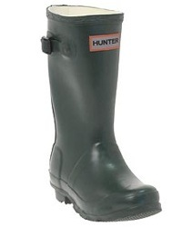 green kids hunter wellies