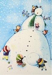 Snowman - Advent Calendar