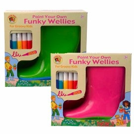 Paint Your Own Wellies Range