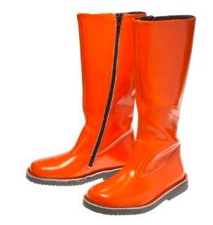 boden orange tall boots