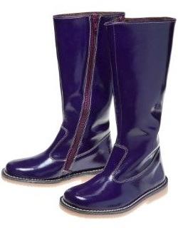 boden purple tall boot