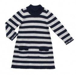 Mayoral L/S Stripe Knit Dress