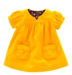 boden yellow pinafore