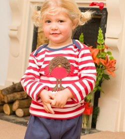 Robin Applique Top by frugi