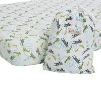 picallily loop the loop cot sheet