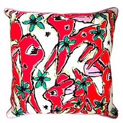 deer cushion by jessica graham