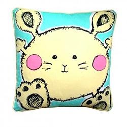 jessica graham 'boy' bunny cushion