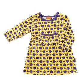 Hugin Mugin Purple bump baby dress