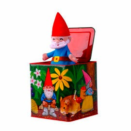 Ernest The Bear Gnome Jack In The Box