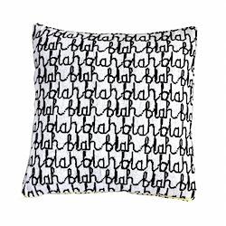 donna wilson blah blah cushion