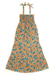 Selina Maxi Dress Blue Floral
