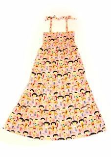 Selina Maxi Dress Pink Toys