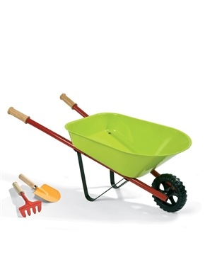 Janod Metallic Wheelbarrow