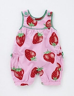 Funky Print Dungarees