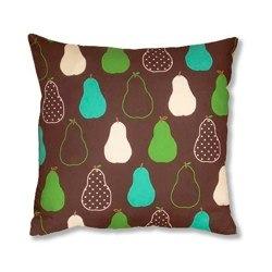 retro pears cushion
