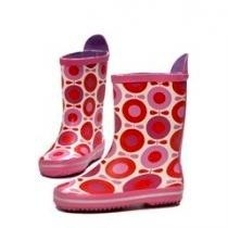 katvig red apple print wellies