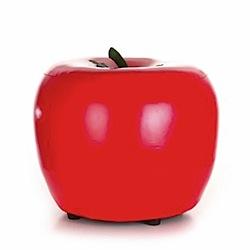 red apple stool
