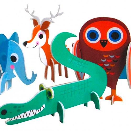Animal Parade Puzzle by Ingela Arrhenius