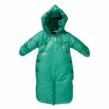 Mini A Ture Xina Frosty Green Snowsuit