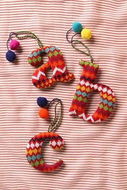 Your Christmas Letter Ornament Anthropologie