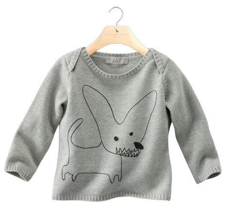 TED : Babies'long-sleeved printed sweater stella mccartney kids
