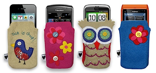 mobile phone pouches by chloe owens