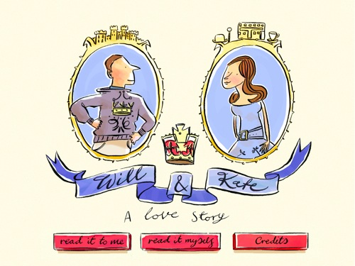 will and kate a love story for iPad