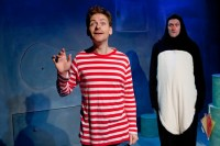 The boy and the penguin in Lost and Found