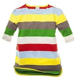 Polarn O. Pyret Block striped tunic
