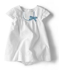 zara baby FINE CHECKED DRESS WITH BOW