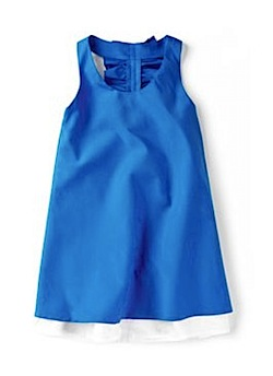 zara DRESS WITH FRILL AT THE BACK